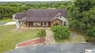 New Braunfels Single Family Home For Sale: 3130 Rolling Oaks Drive