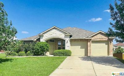 Harker Heights Single Family Home For Sale: 617 Tundra Drive