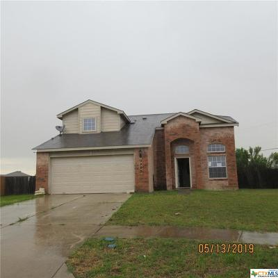 Killeen Single Family Home For Sale: 3202 Crescent Drive
