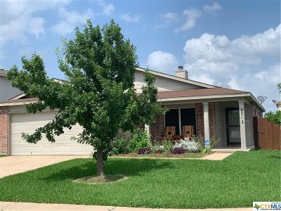 Killeen Single Family Home For Sale: 5712 Bertha Drive