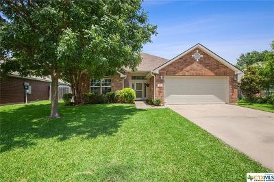Temple Single Family Home For Sale: 8512 Oak Crossing