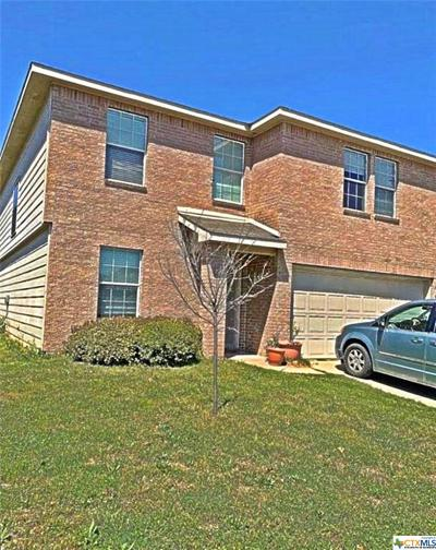 Killeen Single Family Home For Sale: 9000 Devonshire Court