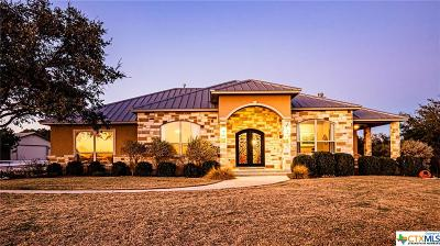 New Braunfels Single Family Home For Sale: 5816 Keller Ridge