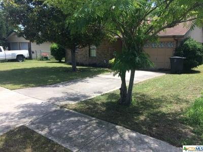 Killeen Single Family Home For Sale: 2620 Hidden Valley Drive