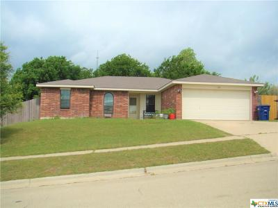 Copperas Cove Single Family Home For Sale: 1320 Katelyn Circle