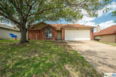 Killeen Single Family Home For Sale: 2301 Pixton Drive