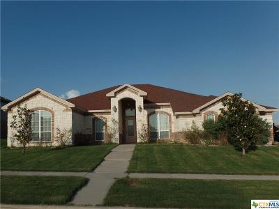 Killeen Single Family Home For Sale: 6008 Bedrock Drive