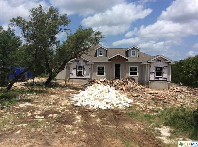 New Braunfels Single Family Home For Sale: 495 Hilltop Rdg