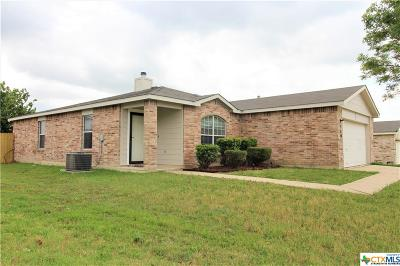 Killeen Single Family Home For Sale: 3303 Catalina Drive