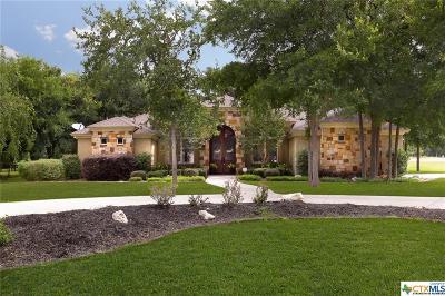 New Braunfels Single Family Home For Sale: 708 Deer Run Way Way