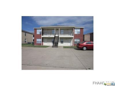 Killeen Multi Family Home For Sale: 3403 Toledo Drive