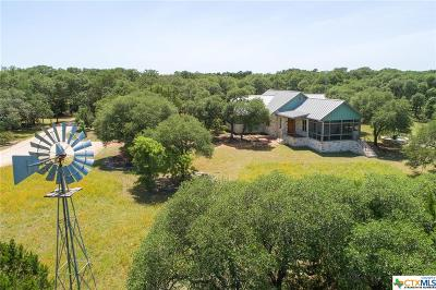 Wimberley TX Single Family Home For Sale: $949,000