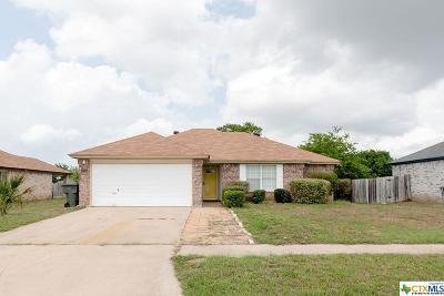 Killeen Single Family Home For Sale: 1807 Lava Lane