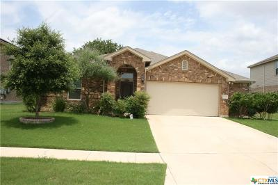 Killeen Single Family Home For Sale: 6301 Serpentine Drive