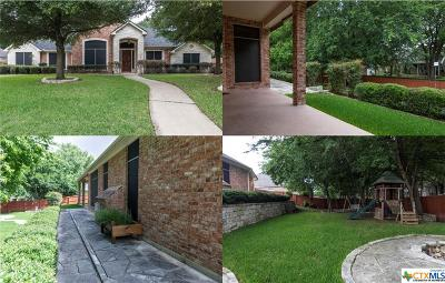 Harker Heights Single Family Home For Sale: 2108 Addax Trail