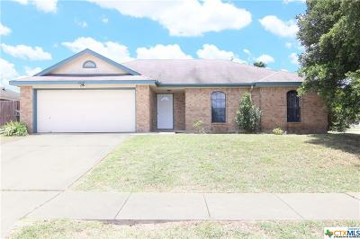 Killeen Single Family Home For Sale: 4608 Fieldcrest Drive