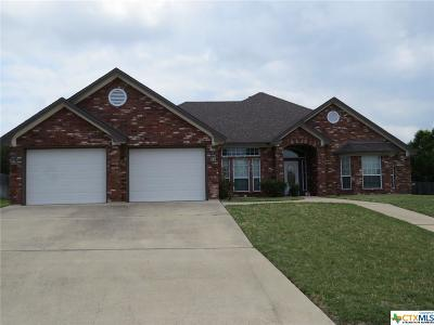 Harker Heights Rental For Rent: 2109 Yak Trail