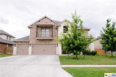 Killeen Single Family Home For Sale: 5207 Siltstone Loop