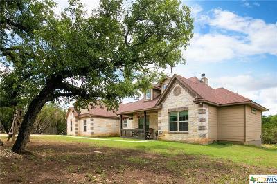 New Braunfels Single Family Home For Sale: 4025 Wegner Road