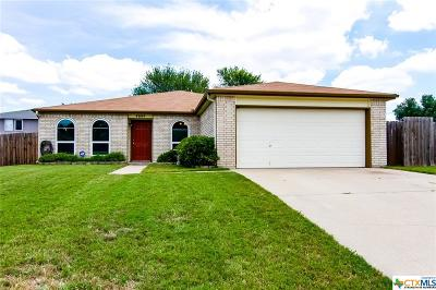 Killeen Single Family Home For Sale: 4604 Emerald Drive