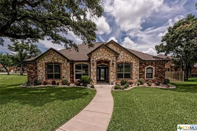 Belton Single Family Home For Sale: 1600 Sandbar Circle