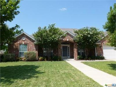 Harker Heights Single Family Home For Sale: 2210 Addax Trail