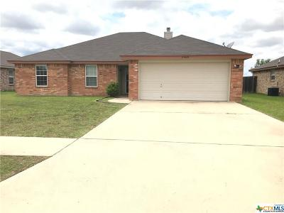 Killeen Single Family Home For Sale: 3905 Jake Spoon Drive