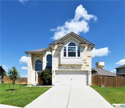 Killeen Single Family Home For Sale: 6805 Cool Creek Drive