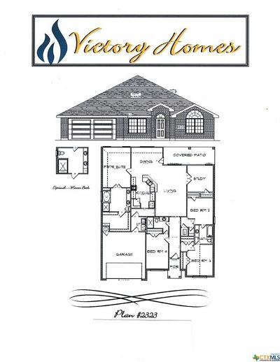 Killeen Single Family Home For Sale: 6705 Black Springs Drive