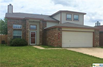 Killeen Single Family Home For Sale: 4208 Indigo Drive