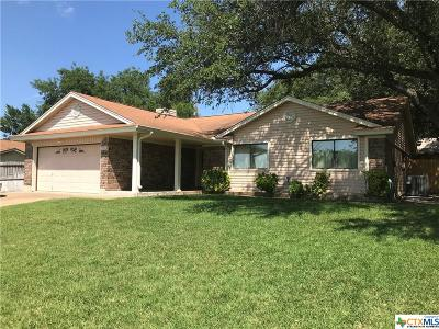Harker Heights Single Family Home For Sale: 1703 Beaver Trail