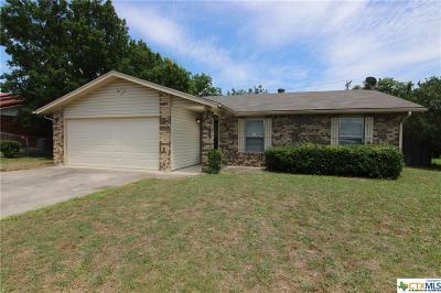 Killeen Single Family Home For Sale: 1606 Becker Drive