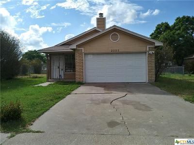 Killeen Single Family Home For Sale: 2305 Magnum Circle