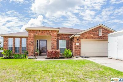 Harker Heights Single Family Home For Sale: 722 Cattail Circle