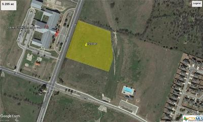 Temple Commercial For Sale: 5.295 Ac On S. Pea Ridge Rd