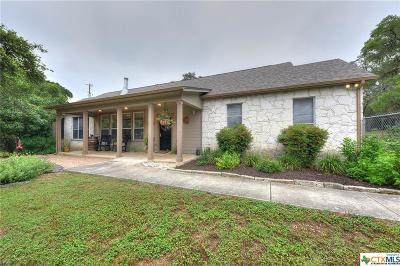 Spring Branch Single Family Home For Sale: 8010 Gainsborough Drive