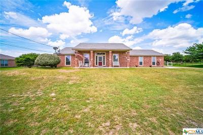 Copperas Cove  Single Family Home For Sale: 245 County Road 4711