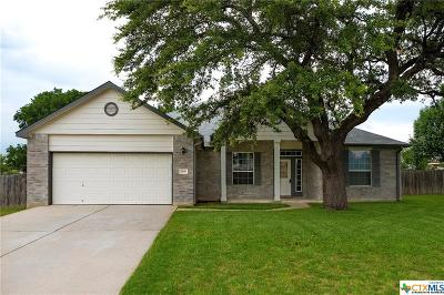 Killeen Single Family Home For Sale: 168 Cross Bend Drive