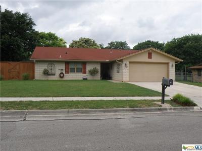 Killeen Single Family Home For Sale: 1901 Ruiz Drive