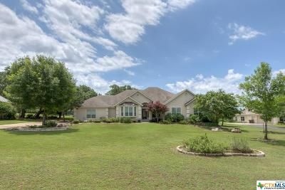 New Braunfels Single Family Home For Sale: 210 Hidden Pointe