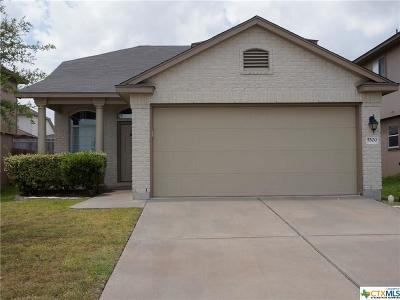 Killeen Single Family Home For Sale: 5500 Lions Gate Lane
