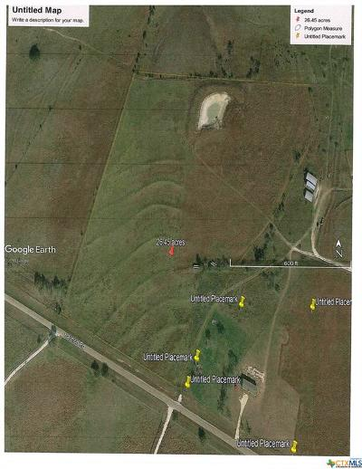 Coryell County Residential Lots & Land For Sale: 26.45 Acres Harmon Road