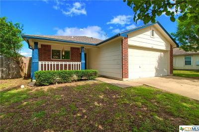 Hutto Single Family Home For Sale: 614 Losoya Court