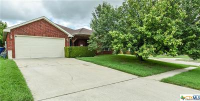 Copperas Cove Single Family Home For Sale: 402 John Henry Circle