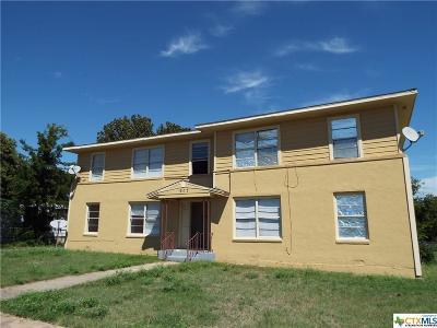 Killeen Multi Family Home For Sale: 907 Sissom Road #1-4