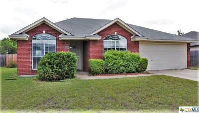 Killeen Single Family Home For Sale: 1805 Basalt Drive