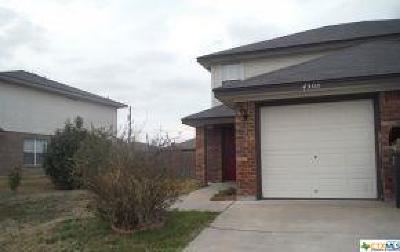 Killeen Single Family Home For Sale: 4508 Acorn Creek Trail