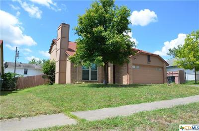 Killeen Single Family Home For Sale: 2204 Hemlock Drive