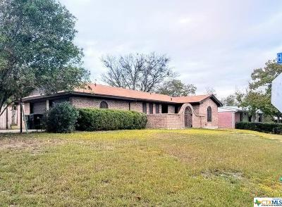 Temple TX Single Family Home For Sale: $89,000