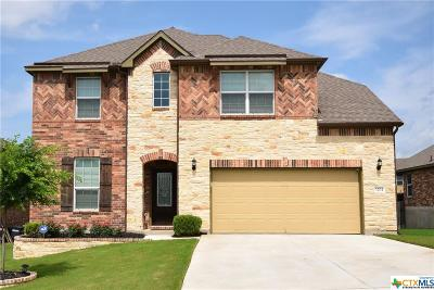 Harker Heights Single Family Home For Sale: 3204 Green Meadow Drive